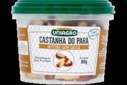 Uniagro – Castanha do Pará Inteira sem Casca
