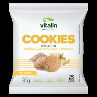 Vitalin – Cookies Quinoa com Chocolate Branco