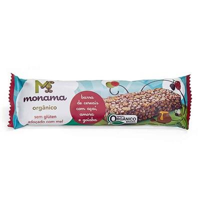 Monama – Barra de cereais orgânica açai amora goiaba