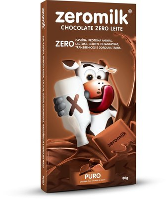 ZeroMilk – Chocolate 40% Cacau